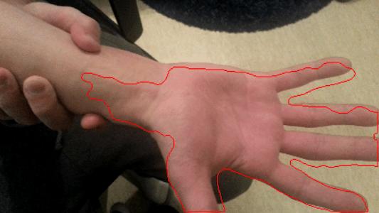 HandSkinTracking screenshot 1
