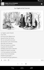 La Fontaine Audio - Sélection screenshot 10