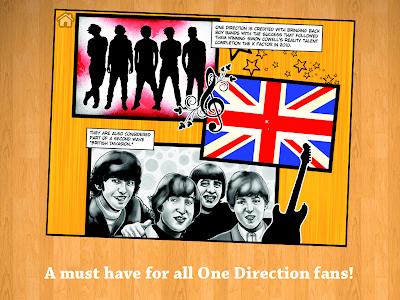 Fame: One Direction Comic Book screenshot 3