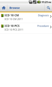 ICD 10 Lite 2012 screenshot 2