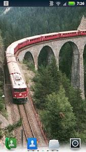 Trains on Bridges Wallpaper screenshot 1