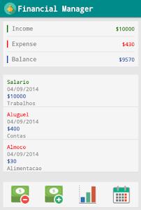 Financial Manager screenshot 0