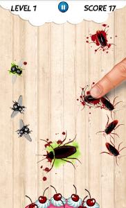 Cockroach smash Insect Crush screenshot 1