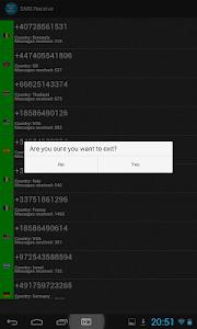 SMS Receive screenshot 8