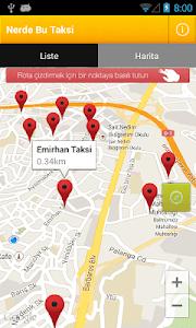 Nerde Bu Taksi screenshot 1