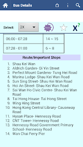 Hong Kong Bus Info screenshot 2