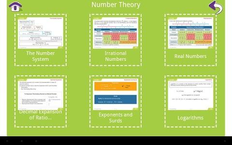 Grade 9 Math Learning Cards screenshot 13