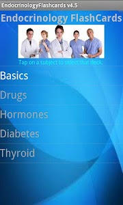 Endocrinology Flashcards screenshot 0