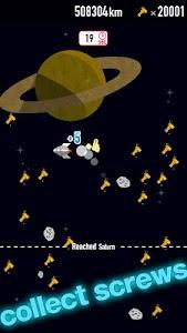 FLAT-galaxy- space travel game screenshot 2