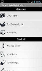 Esame di Stato Medicina DEMO screenshot 0