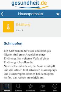 Hausapotheke screenshot 3