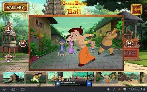 Bali Movie App - Chhota Bheem screenshot 1
