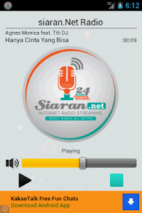 siaran.Net Radio screenshot 0