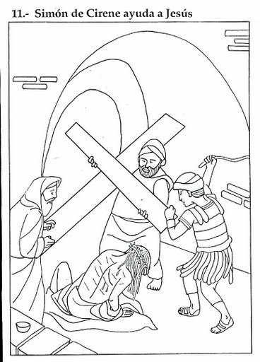 Dibujos De Jesus Con Ninos