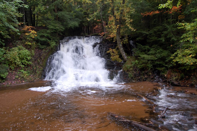 Morgan falls michigan the waterfall record for Morgan falls