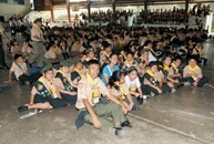 640 102409 1st SSD Pathfinder Camporee