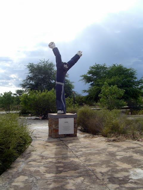 Statue of Antonio Conselheiro