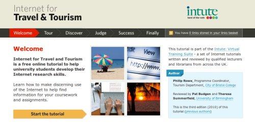 Una guia de investigacion para turismo e internet