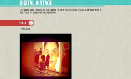 Digital Vintage, imágenes analógicas por medios digitales