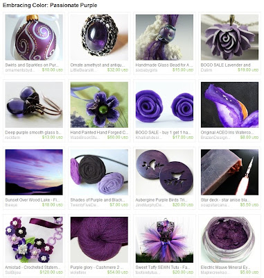 Passionate Purple Treasury
