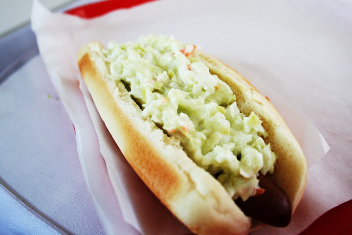 My Coleslaw Dog