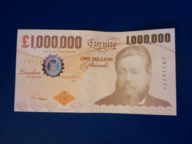 Million pound note
