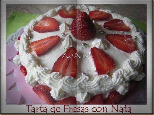 Fresa con nata tarta (5)