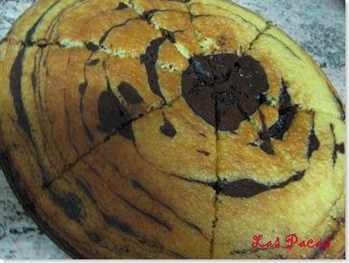 Bizcocho cebra de choco y naranja (1)
