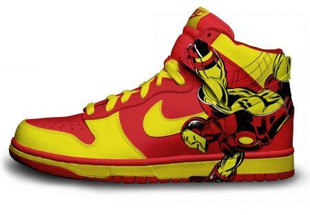 Gambar : Nike-shoes-design-super-hero-2