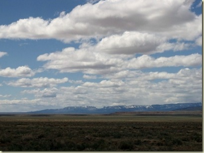 North Rim Colorado Plateau from Hwy 89A Arizona
