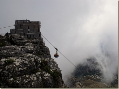 Portal & cableway Table Mountain National Park Cape Peninsula South Africa