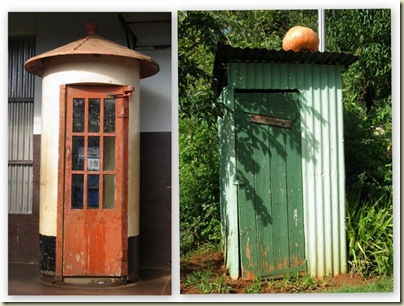 phone booth & outhouse Pilgrim's Rest South Africa