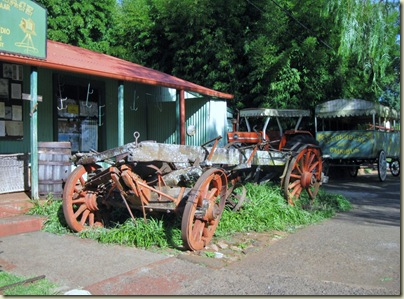 Old wagons Pilgrims Rest Mpumalanga South Africa