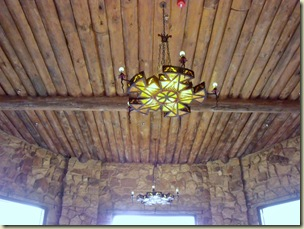 Light & celing of sunroom Grand Lodge North Rim Grand Canyon National Park Arizona