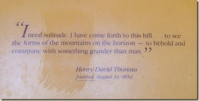 Solitude quote by Thoreau Bristlecone Loop trail Bryce Canyon National Park Utah