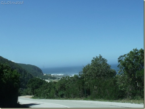 Indian Ocean view Tsitsikamma National Park Stormsriver mouth Eastern Cape South Africa