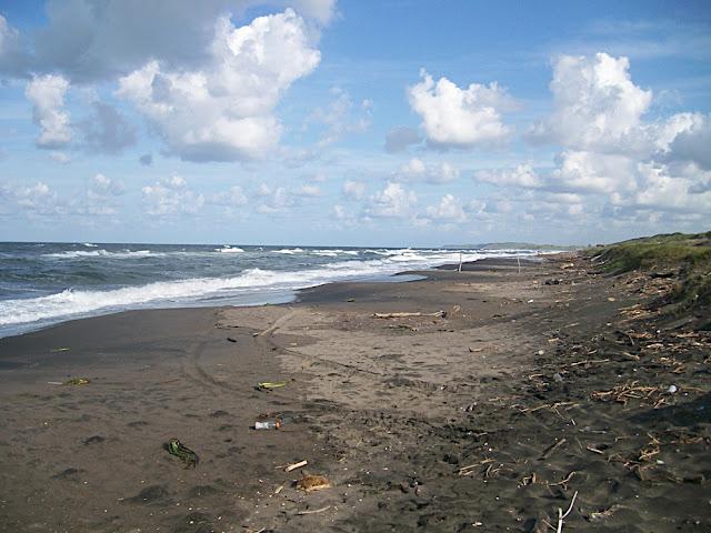 Playa de camino entre Alvarado y Veracruz