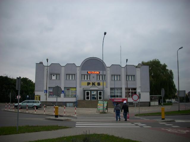 Dworzec PKS w Człuchowie