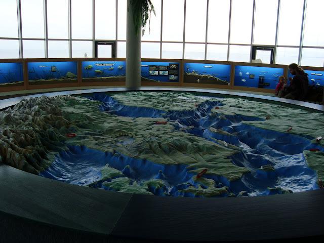 Plastyczna mapa Bałtyku