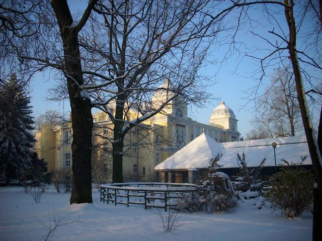 Herpetarium i akwarium w śniegu
