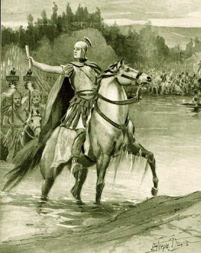 Caesar crossing the Rubicon