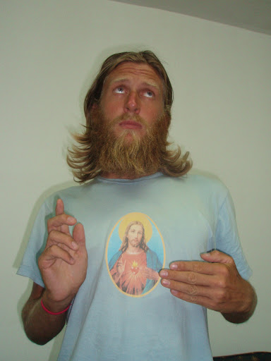 Close inspection of my shirt will reveal that I do, in fact, look like Jesus.