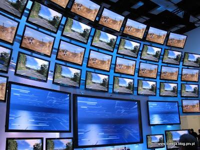 Ściana z TV 3D