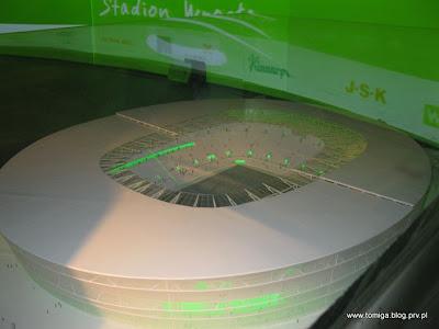 Makieta stadionu