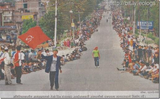 Maosit-indefinite-strike-Nepal-Bandha (6)
