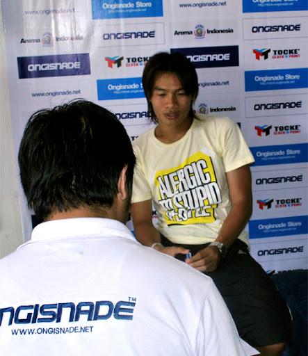 Juan Revi Auriqto Arema Indonesia
