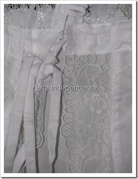 Blusa Branca, Renda, Transparente