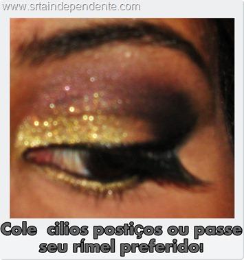 Eyes, Tutorial, Sombra Dourada, Sombra Preta