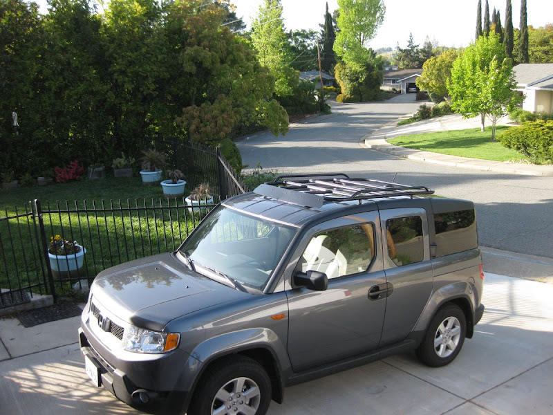 Diy Roof Rack Honda Element