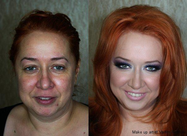 makeup before after vandreev 1 - 13 Fotos de maquiagem incríveis antes e depois
